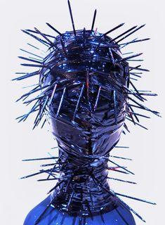"1 of ""100 Headpeieces"" made by katsuya kamo - Junya Watanabe 2006 aw"