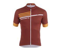 5da49350d Giordana 2015 Mens Silvererline Short Sleeve Cycling Jersey Giro Burgundy  RedOrange Medium    Read more at the image link.