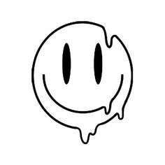Indie Drawings, Easy Doodles Drawings, Easy Doodle Art, Simple Doodles, Art Drawings Sketches Simple, Easy Graffiti Drawings, Simple Cute Drawings, Psychedelic Drawings, Dark Drawings