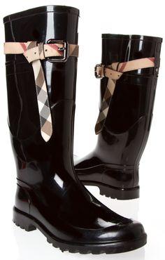 Burberry Boots @Michelle Flynn Flynn Flynn Coleman-HERS