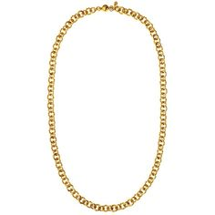 Juicy Couture Enamel and Rope Chain Strand Necklace ($50) ❤ liked on Polyvore featuring jewelry, necklaces, accessories, colares, chains, gold, rope chain necklace, multi layer chain necklace, gold tone chain necklace and enamel jewelry