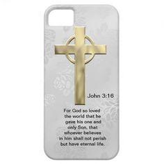 John 3:16 (white) iPhone 5 case.... http://www.zazzle.com/john_3_16_white-179817652596448858?rf=238631258595245556