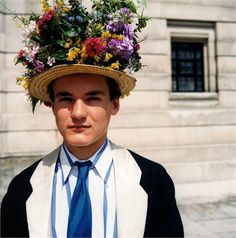 Eton #boys #flowers