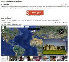Panoramio y Google Plus te desafían. Nuevo juego de Google - Rincón didáctico de Ciencias Sociales  http://rincones.educarex.es/ccss/