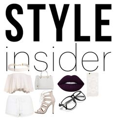 """style insider"" by dreabelly ❤ liked on Polyvore featuring Topshop, MICHAEL Michael Kors, Lime Crime, Humble Chic, contestentry, laceupsandals and PVStyleInsiderContest"