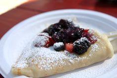 Flip Happy Crepes in Austin, TX #sxsw #foodtruck