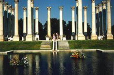 The original Capitol Columns at the National Arboretum are the perfect place for a DC picnic.