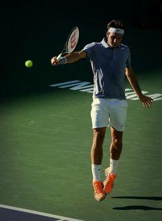 Roger Federer @JugamosTenis #tennis #tenis #IndianWells