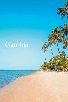 Podmanivá Gambia - malá západoafrická krajina na pobreží Atlantického oceánu, ktorá začína lákať zahraničných turistov kvalitnými hotelmi, nádhernými plážami s jemným bielym pieskom a úprimnou pohostinnosťou. Sunset Beach, Bratislava, Water, Top, Outdoor, Gripe Water, Outdoors, Outdoor Games, The Great Outdoors
