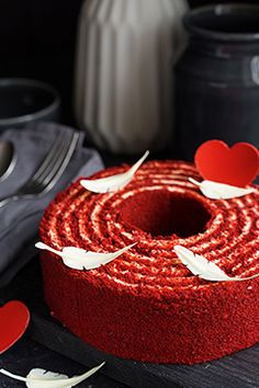 """Рулет """"Красный бархат"""" - Andy Chef - блог о еде и путешествиях, пошаговые рецепты, интернет-магазин для кондитеров"""