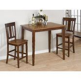 Found it at Wayfair - 3 Piece Counter Height Dining Set