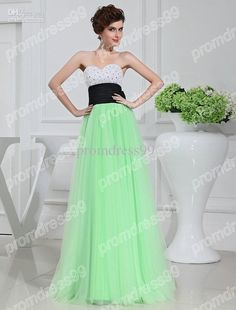 Wholesale Lovely Sweetheart Applique Beads Long Tulle Bridesmaid Dress New Arrival Custom Made, Free shipping, $109.76-126.59/Piece | DHgate