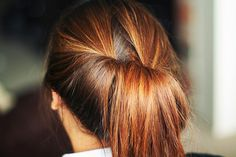 #Ponytail #Hairstyle #Hair #DIY #Cheveux #Coiffure #Frisur #Haartacht #Couette #Fashionista #Cabello
