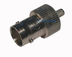 Conector coaxial BNC hembra recto aéreo engastar 75-Ohm BNCFFCR  coaxial.es