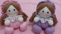 Sewing Video Tutorial For Dolls Doll Crafts, Diy Doll, Cat Pattern, Soft Dolls, Felt Toys, Fabric Dolls, Rag Dolls, Pin Cushions, Diy And Crafts