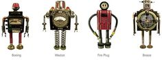 robot metal junk - Google Search
