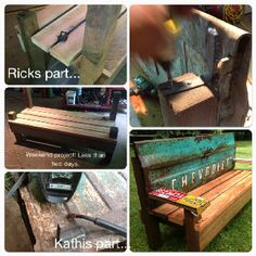 Tailgate bench - I'd like to add my own spin to this :)