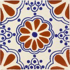 Mexican Tile - TC & Blue Lace Mexican Tile