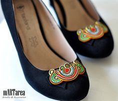 Unique shoes. Soutache by Martarea