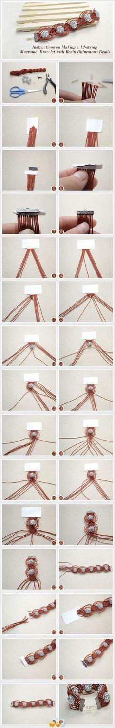 DIY bracelet. Craft ideas 6485 - LC.Pandahall.com