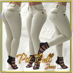 Brazilian Jeans, Frauen In High Heels, Jeans Skinny, Hot Pants, Girls Jeans, Cool Outfits, Chic, Womens Fashion, Fashion Pants