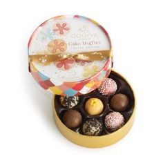 Godiva Limited Edition Cake Inspired Chocolates