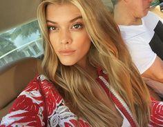Nina Agdal    Instagram