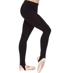 Stirrup Pant - Style #821BLK at Discount Dance Supply