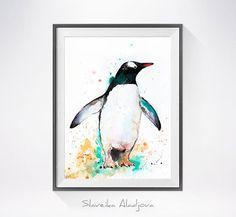 Gentoo-Pinguin Aquarellzeichnung drucken, Penguin Kunst tierische Aquarell, Pinguin-Malerei, Pinguin-Illustration, Tier, print Kunst Dies ist ein Druck von meiner original-Gemälde. Speziell für Sie gedruckt! Andere Abmessungen sind auf Anfrage erhältlich Meine Archivabzüge sind in meiner eigenen Kunststudio mit Epson Pigmenttinten, die getestet und garantiert nicht für mindestens 120 + Jahre verblassen gemacht. Ich benutze eines der besten Breitformat-Drucker - Epson mit elf Tinten für…