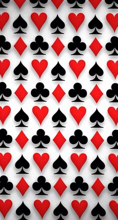 Clubs diamonds hearts and spades