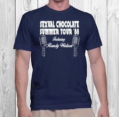 Funny Sexual Chocolate Featuring Randy Watson tee - Band seen in Coming to America | Twisted Monkey Apparel by TwistedMonkeyApparel on Etsy
