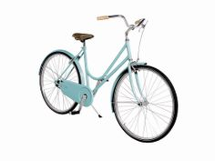 Classic and refined #bike for a leisurely walk #outdoors by #TooDesign available on #flooly #design link: www.flooly.com/it/granturismo-donna-mis-grande-acquamarina-abici/14415