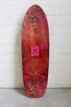 STRGHT C Vista Collection Primrose Single Kicktail Skateboard - Urban Outfitters