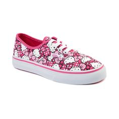 d8da225c06e Shop for Girls Youth Vans Authentic Hello Kitty Skate Shoe in Hot Pink at  Shi by