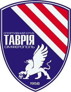 Sports Club Tavriya Simferopol (Спортивний клуб «Таврія» Сімферополь)   Country: Україна / Ukraine. País: Ucrania.   Founded/Fundado: 1958-2014   Badge/Crest/Logo/Escudo.