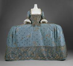 Court dress [British] (C.I.65.13.1a-c) | Heilbrunn Timeline of Art History | The Metropolitan Museum of Art