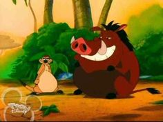 Timone & Pumba the T.V. show.