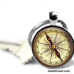 Compass keychain travel key ring compass photo key chain world traveler gift. This is not a working compass-it's a photo. - http://oleantravel.com/compass-keychain-travel-key-ring-compass-photo-key-chain-world-traveler-gift-this-is-not-a-working-compass-its-a-photo