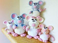 Crochet Pattern Mouse - Woolmice - English