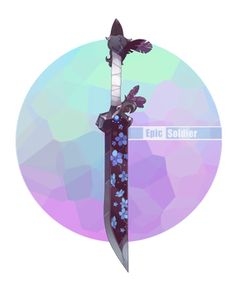 Weapon commission 79 by Epic-Soldier on DeviantArt Anime Weapons, Fantasy Weapons, Character Art, Character Design, Sword Design, Weapon Concept Art, Anime Outfits, Art Reference, Badass
