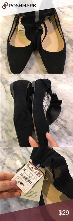 Zara sale ruffle flats Zara flats Zara Shoes Flats & Loafers