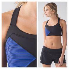 NWT Lululemon Kanto Catch Me Bra 6 Blue ✳️New with tag ✳️Color: BLK/KLUP ✳️Medium support for a B/C cup ✳️Designed with supportive elastic straps so you can focus on sweating, not readjusting  ✳️Bra insert, pads not included   Size: 6 I price my items 10% more than my lowest so you can get a possibly a discounted shipping:) Just let me know when you're ready!  Check out my other Lululemon items!! ❌No Trades, No Low ballers, please! lululemon athletica Intimates & Sleepwear Bras