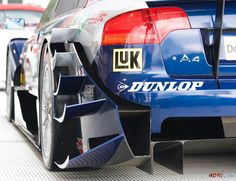 DTM - Some of the most shameless aero bits featured in any type of race series. Love it.