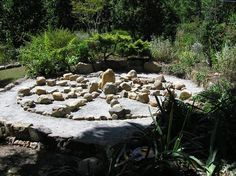 Make a sun wheel garden to celebrate the Summer Solstice, or Litha