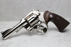 "1965 Colt Trooper 4"" Nickel"
