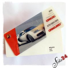 010 weiß glänzend (ca. RAL 9003 ) - Oracal 970 Premium Wrapping Cast - Autofolien - Car Wrapping Folien