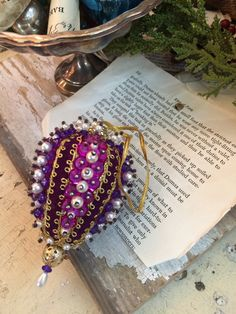 Pair of Purple by DaphsSmallWorld on Etsy