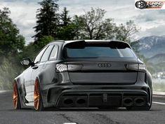 Während wir in den letzten Wochen wirklich wenig Zeit hatten uns mit neuen Renderings zu beschäftigen sind wir das Thema am vergangenen Wochenende nun wieder angegangen. Wir haben uns dafür drei Fahrzeuge ausgesucht und bei allen dreien handelt es sich um ziemlich potente Audis. Beginnen möchten wir mit einem Audi RS6 C7 Avant dem wir … Audi Allroad, Audi Rs5, Audi Wagon, Wagon Cars, Audi Kombi, Volkswagen, Audi Sport, Sport Cars, Audi Rs6 Performance