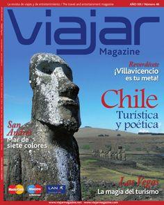 VIAJAR MAGAZINE CHILE  REVISTA DE VIAJES Y ENTRETENIMIENTO, TURISMO