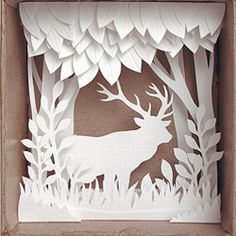 Exquisite papercut works by Anatoly Vorobyev of Papercutout.